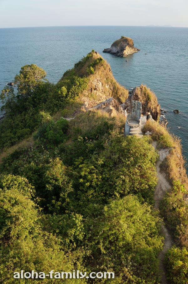 Старый разрушенный маяк - Ko Lanta Marine Park