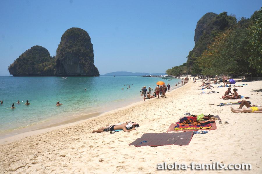 Пляж Пра Нанг на Рейли