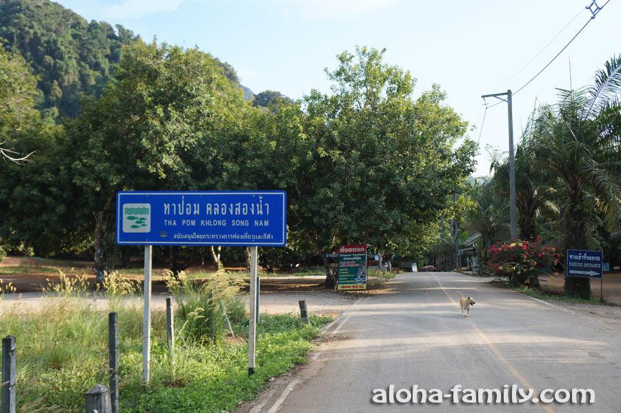 Подъезд к Tha Pom Klong Song Nam