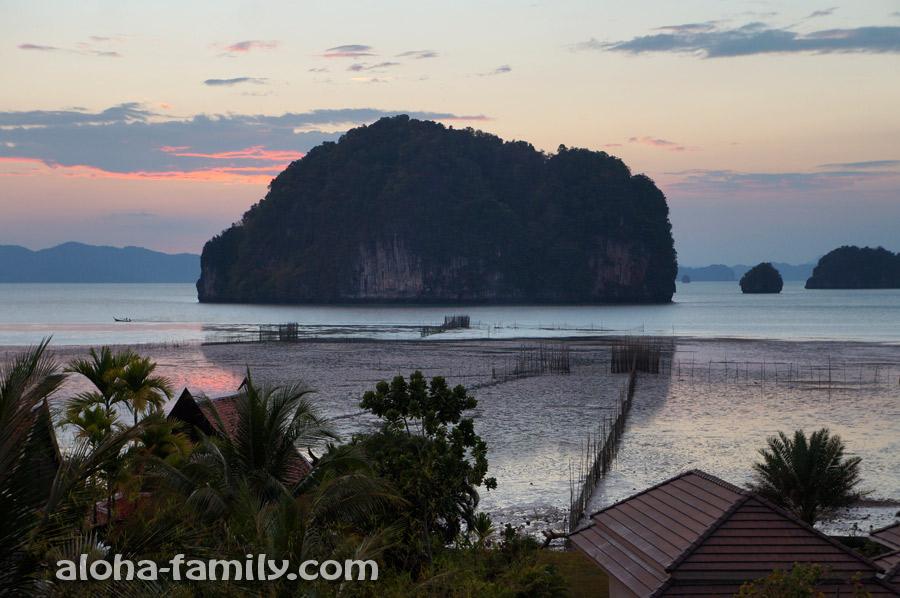 Просто вид с дороги на море - 25 километров от Ао Нанга