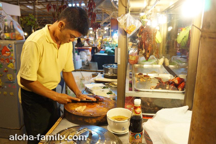 Вкуснейшая утка в Ао Нанге продаётся слева возле базара (между почтой и поворотом на Ао Наммао)