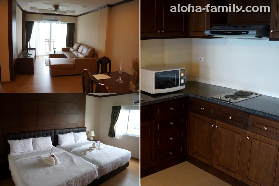 Апартаменты Orchid в Хуа Хине за 50,000 бат (принципиально зашёл посмотреть))) Вопрос: зачем ставить 2 кинг-сайз кровати рядом?