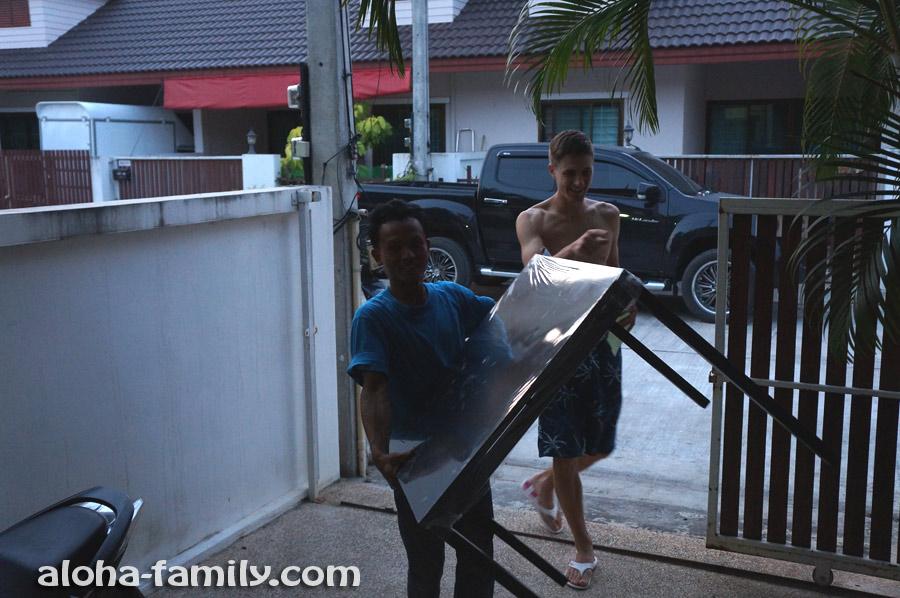 Бесплатная доставка стола на дом в Хуа Хине