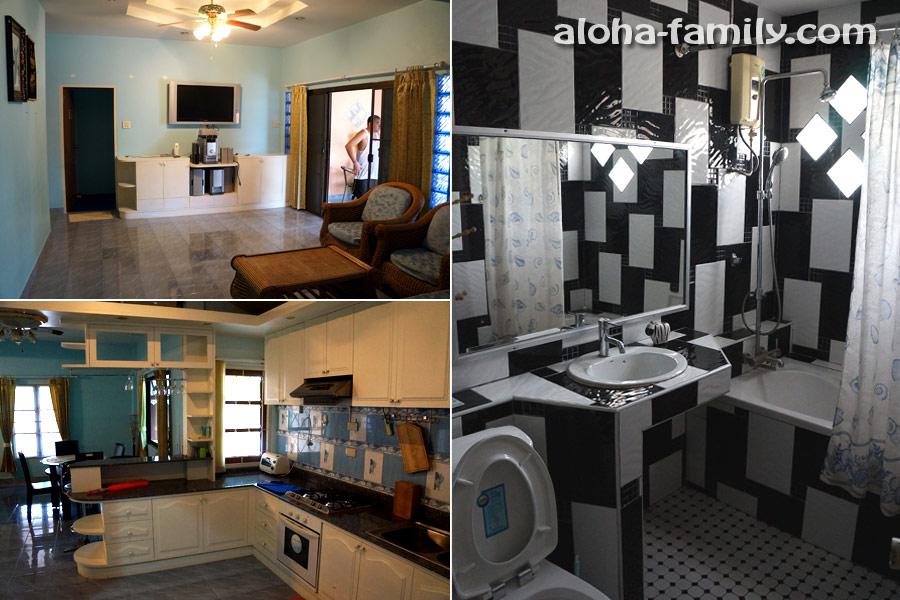 Где-то в Хуа Хине (дом с отличной обстановкой, ремонтом, печкой с духовкой, с большим двориком за 20,000 бат)