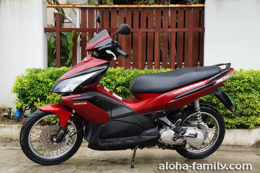 Покупка б/у мотобайка в Таиланде, и его постановка на учёт
