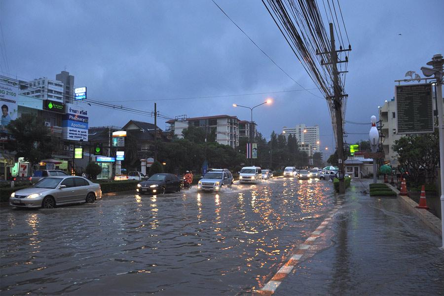 Хуа Хин после сильного дождя