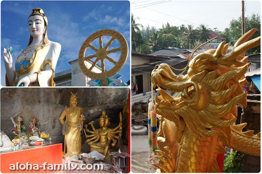 Дивные фигурки буддизма
