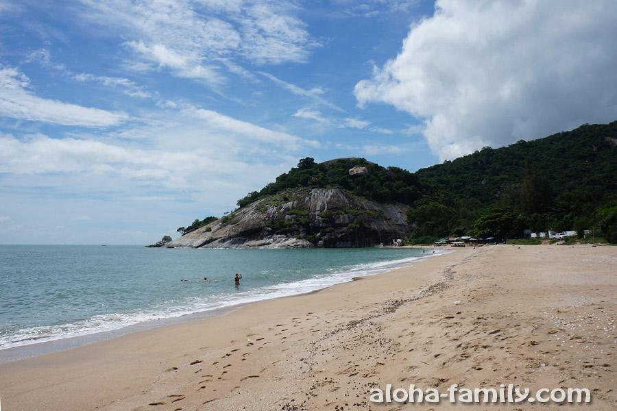 Один из самых ярких пляжей окрестностей ХХ
