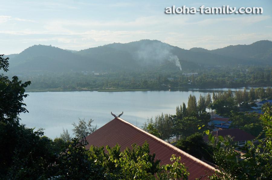 Озеро Kao Tao - вид с горы