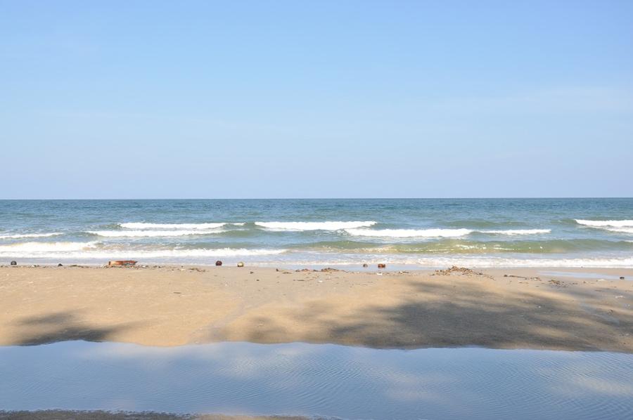 После прилива море оставляет лужицу, в которой дети могут играть с мальками и ловить мелких крабов (намного интереснее любой игры в айпэде))))