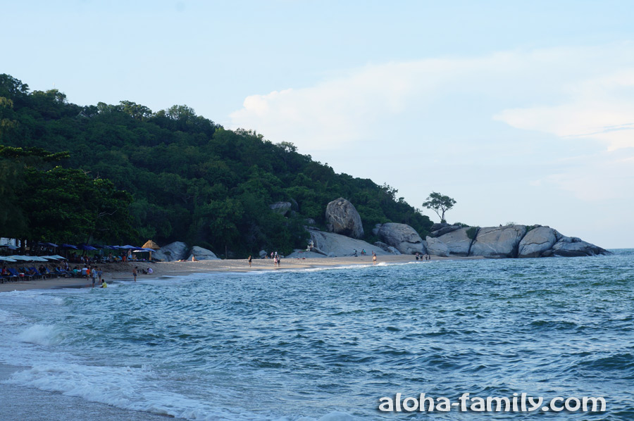 Sai Noi Beach почти перед закатом