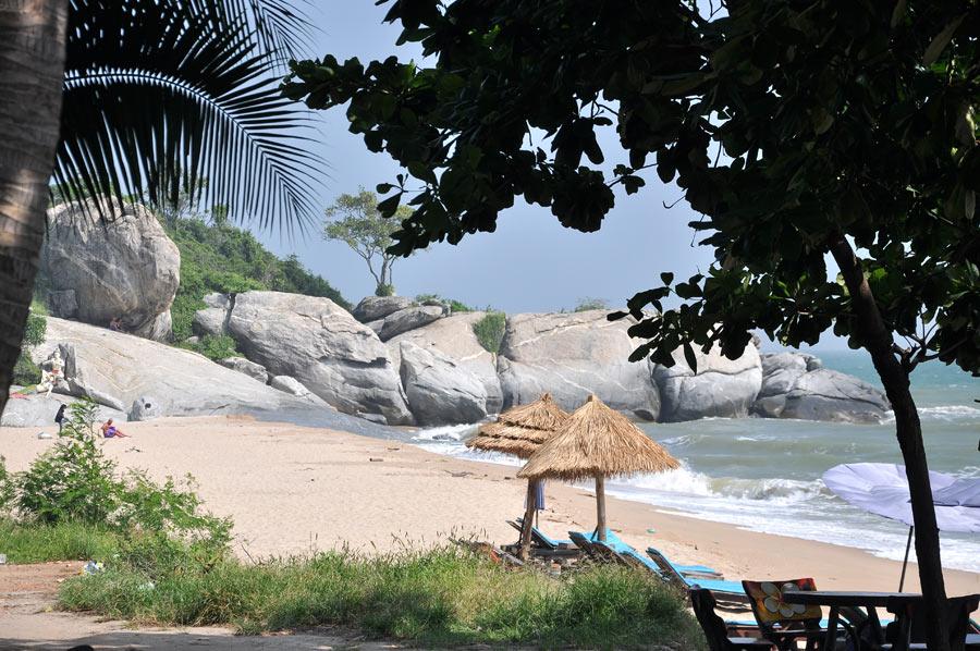Пляж Сай Ной - удачный ракурс