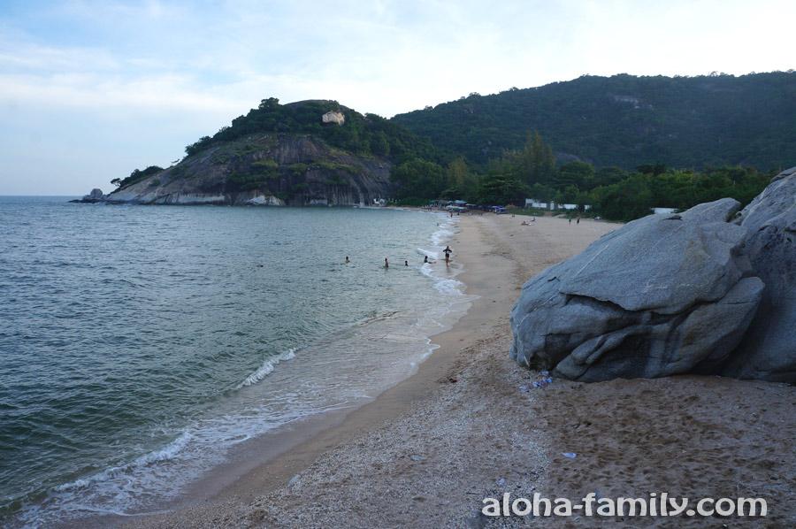 Сай Ной возле Хуа Хина (немного похож на Корал Ков на Самуи)