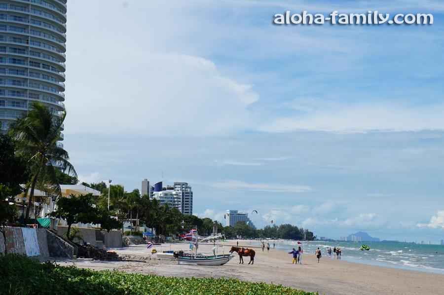 Типичный день на пляже в ХХ