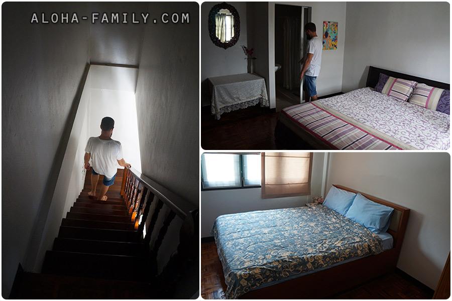 Наши спальни и ступеньки (если напился, лучше ложиться внизу))))
