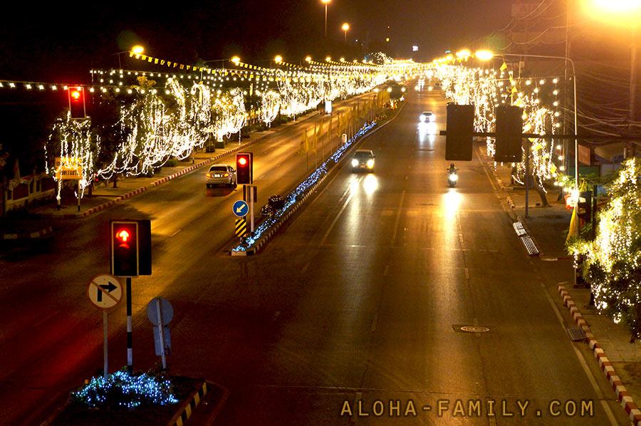 Центр Хуа Хина готов к новогодним праздникам