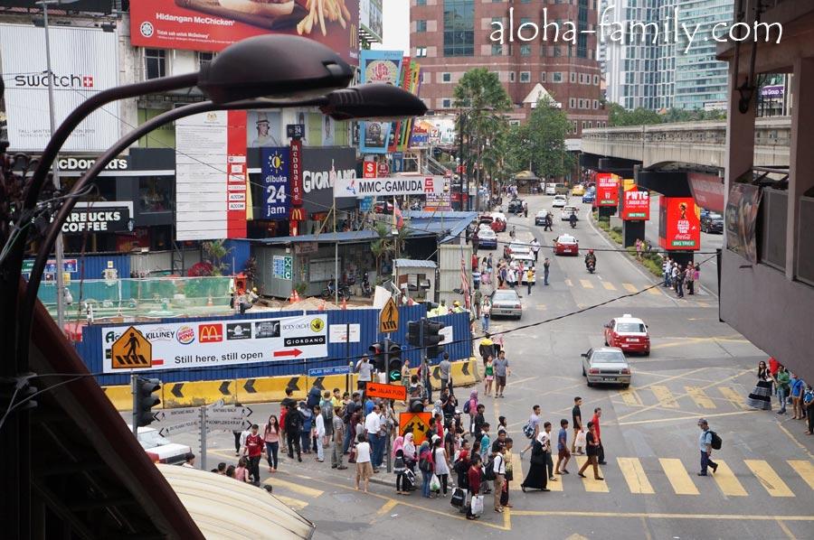 Bukit Bintang - улица с торговыми центрами в центре КЛ