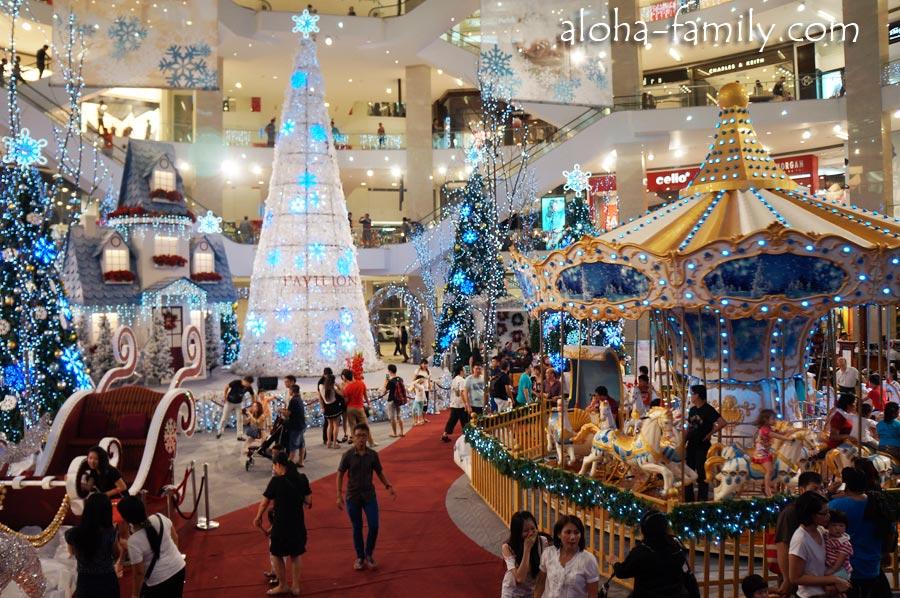 Куала Лумпур на Новый год