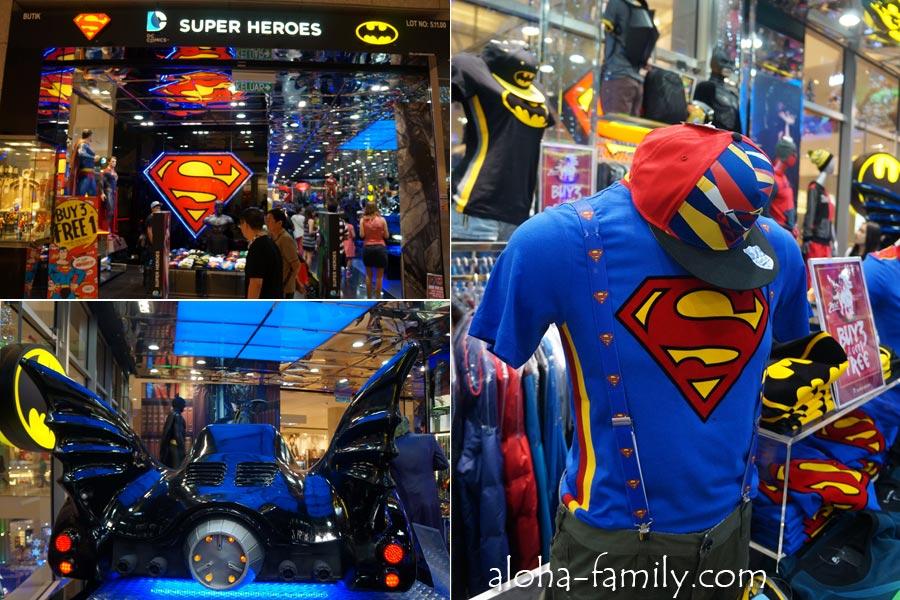 Магазин Super Heroes в KL