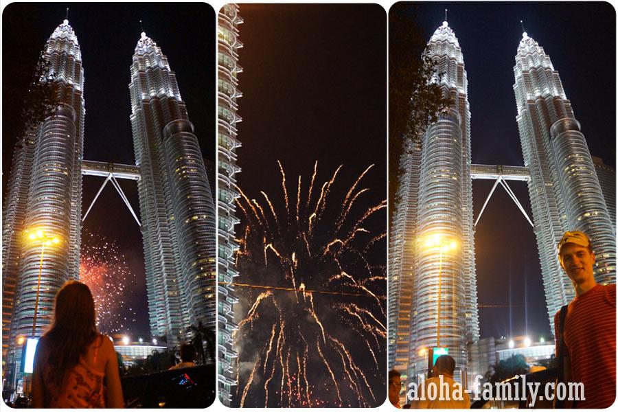Новый год в Kuala Lumpur