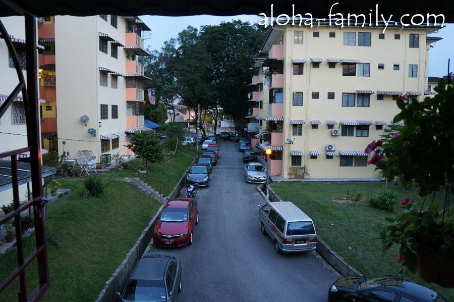 Район Wangsa Maju в КЛ - здесь мы арендовали комнату в обычной квартире, а не в отеле