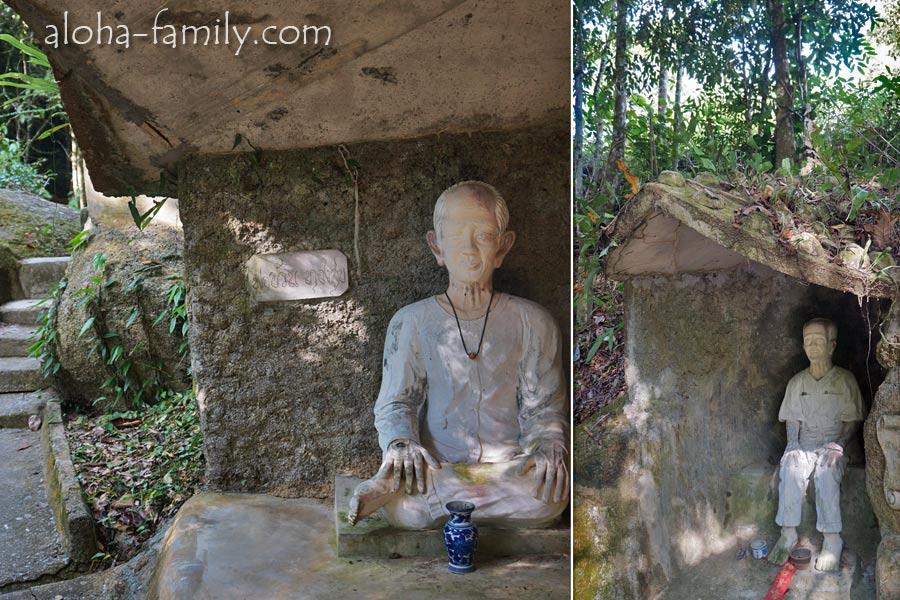 Творец Magic Garden и его отец - увековеченные в скульптурах