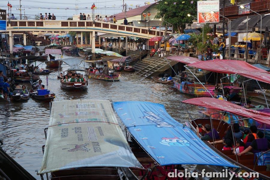 Ампхава: плавучий рынок и шоу светлячков