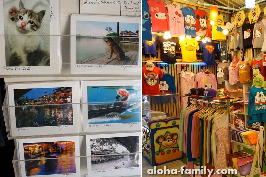 Открытки и футболки в Ампхаве