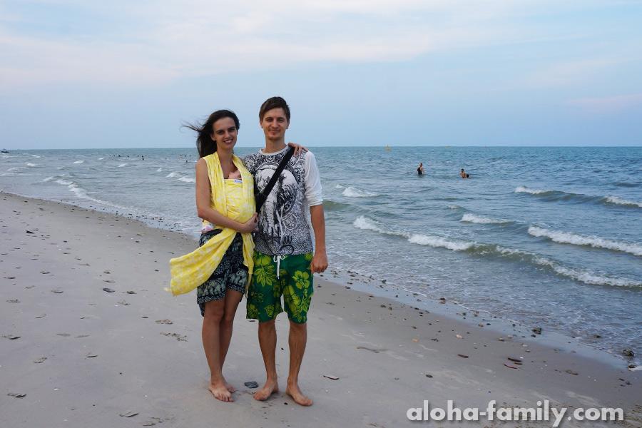 Пляж в Хуа Хине 19 апреля 2014 года