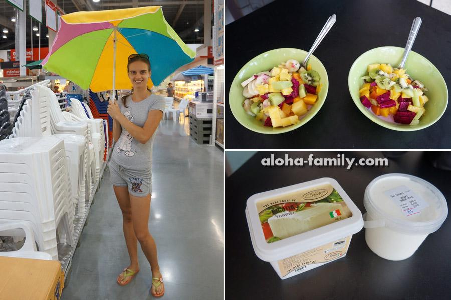 Счастливая беременность с тайскими фруктами и рикоттой