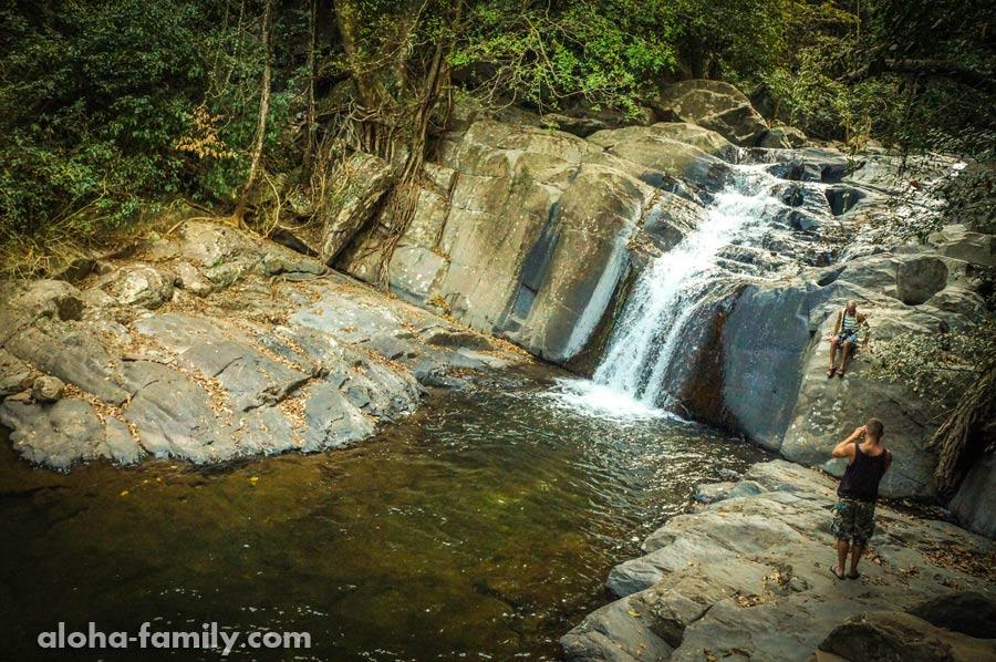 4-ый уровень водопада Па Ла-У