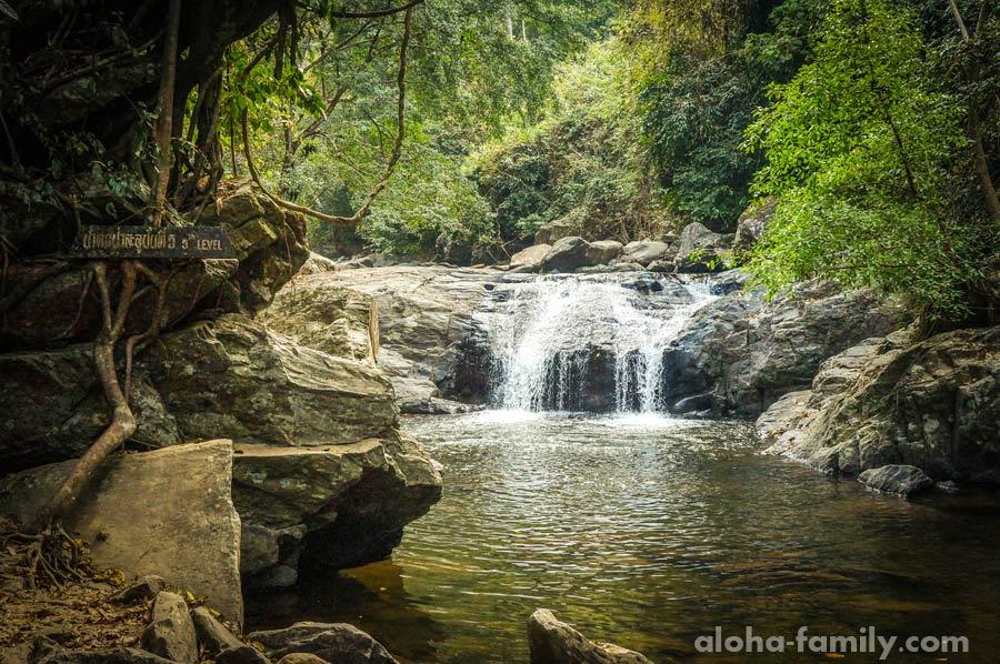 5-ый уровень водопада Палау, расположенного между Хуа Хином и границей Мьянмы с Таиландом