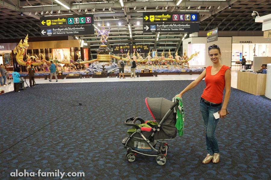 Перелёт с двухмесячным ребёнком «Бангкок — Киев»