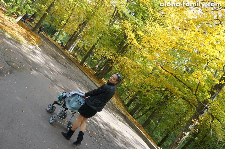 Гуляем в парке
