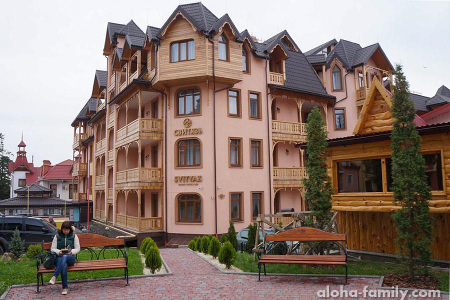 Отель Свитязь, Трускавец