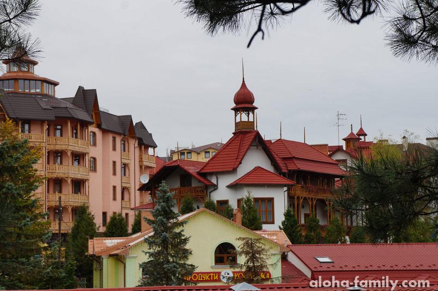 Гостиницы рядом со старым бюветом