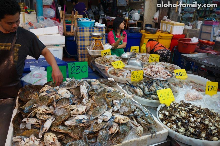 Рыбный рынок в Хуа Хине