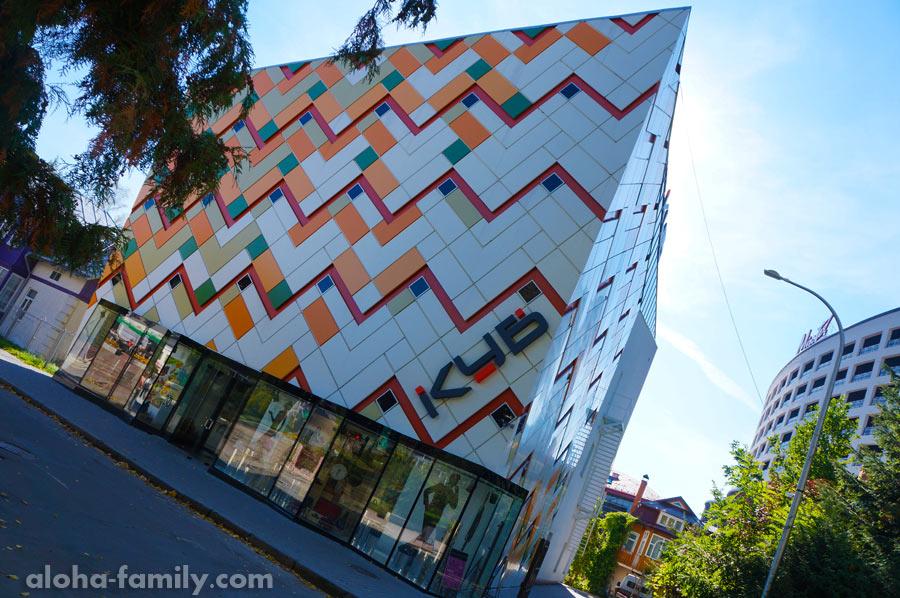 """Торговый центр """"КУБ"""" - небольшой, но симпатичный, с уютной кофейней на последнем этаже"""