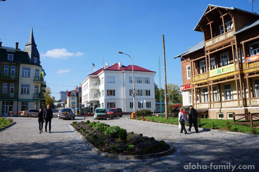 Здание Городской Рады Трускавца