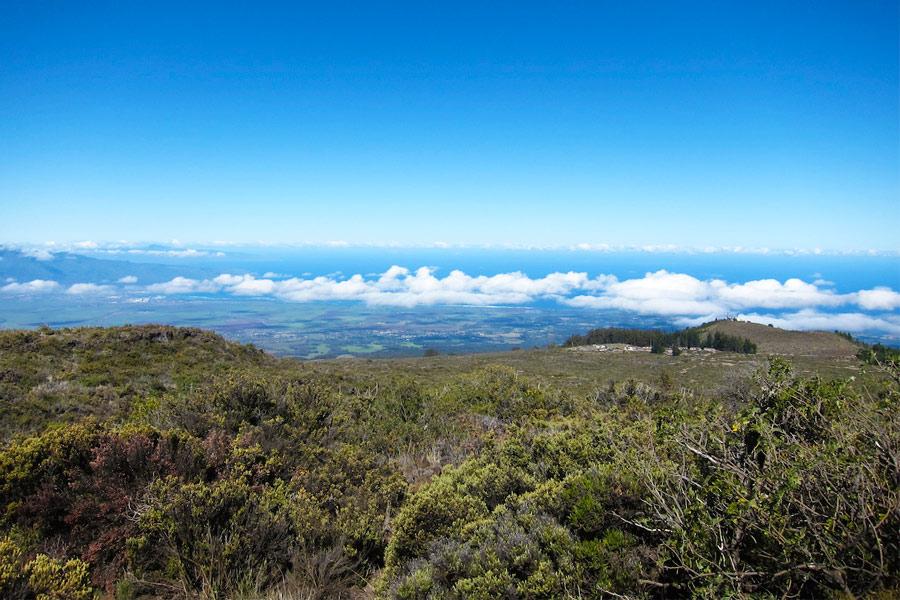 Национальный парк Халеакала, вид на океан