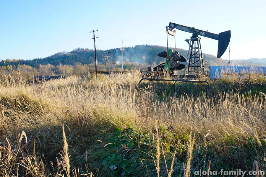 Добыча нефти возле Борислава