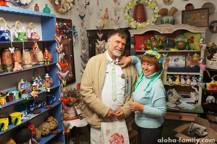 Выбираем сувениры во Львове