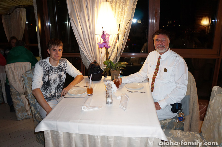 """Ужин в """"St Feder"""", ресторан """"Terrazza"""""""
