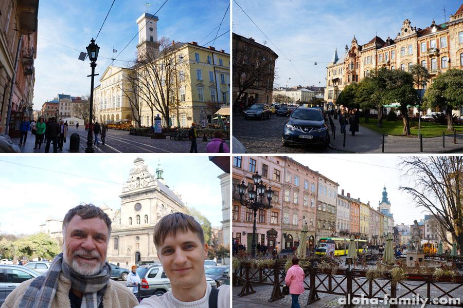 В центре Львова