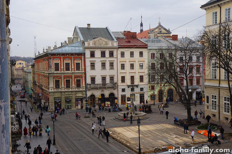 А из нашего окна... Just Lviv It...
