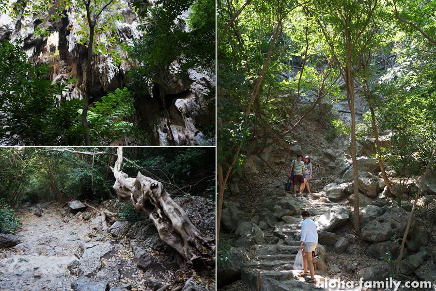 Дорога к пещере