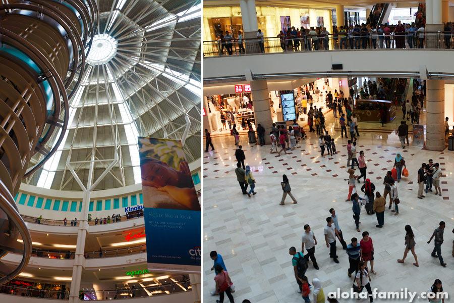 Petronas Towers (внутри зданий)
