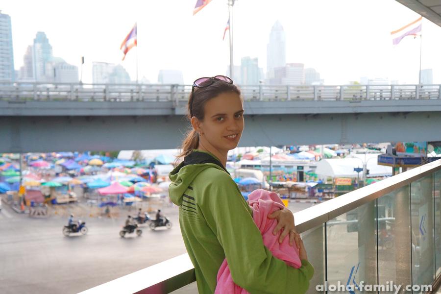 Бангкок, 4 апреля 2014 - утро на пути в Хуа Хин