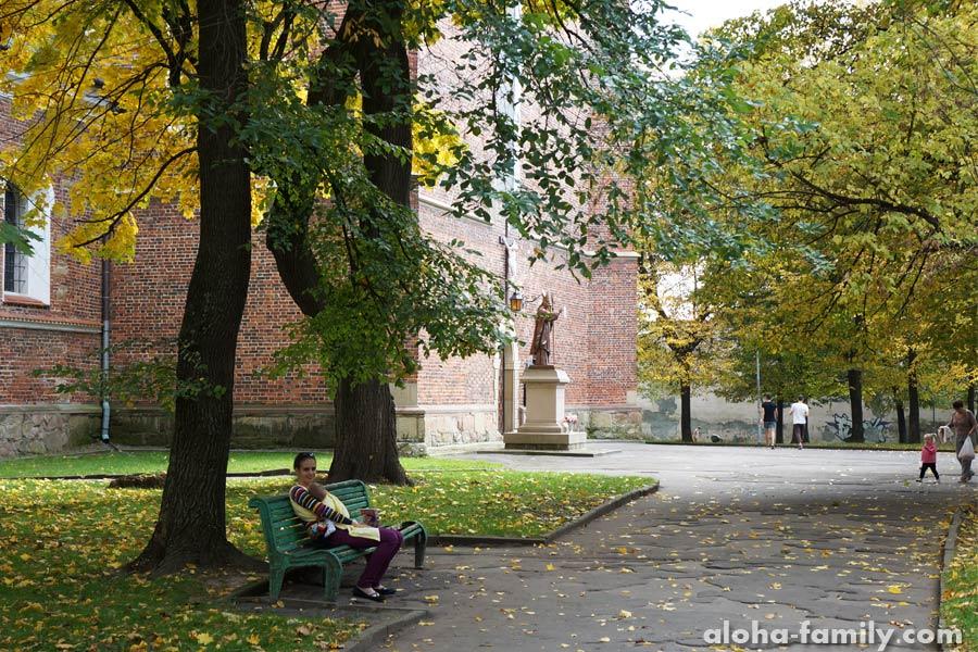 Дрогобыч, 11 октября 2014 - новый для нас парк