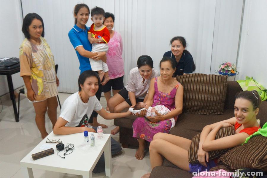 Хуа Хин, 27 марта 2014 - тайские соседи у нас в гостях